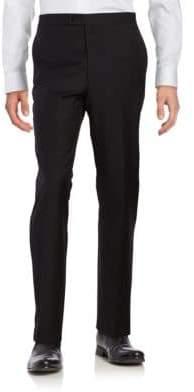 Lauren Ralph Lauren Straight-Leg Wool Tuxedo Pants