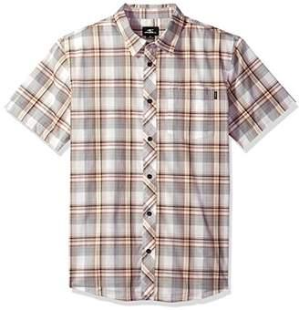O'Neill Men's Gentry Short Sleeve Woven Shirt