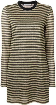 Philosophy di Lorenzo Serafini striped jersey dress