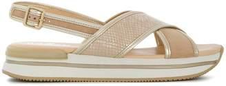Hogan platform slingback sandals