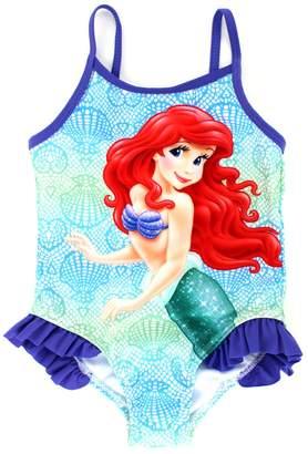 Disney The Little Mermaid Ariel Girls Swimsuit Swimwear (18M, )