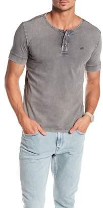 William Rast Short Sleeve Knit Henley