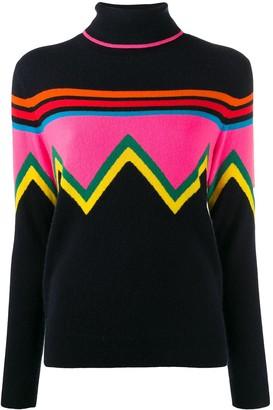 Parker Chinti & chevron stripe jumper
