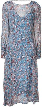 IRO patterned long-sleeved dress