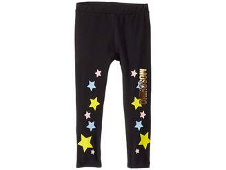 Moschino Kids Logo Star Print Leggings (Infant/Toddler)