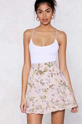 Nasty Gal Put a Little Spring Mini Skirt