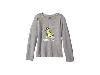 Life is Good Shine On Rocket Crusher T-Shirt Long Sleeve (Little Kids/Big Kids)