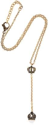 Alcozer & J Crown Necklace With Pearl