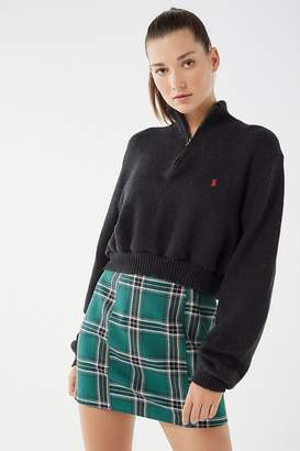 Urban Renewal Vintage Remade Zip-Up Polo Sweater
