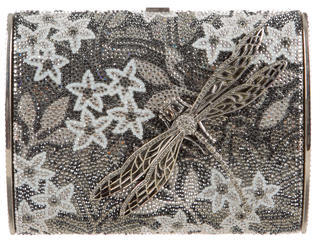 Judith Leiber Dragonfly Crystal-Embellished Clutch $1,195 thestylecure.com