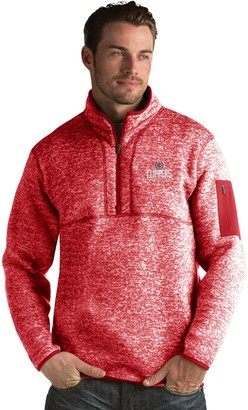Antigua Men's Los Angeles Clippers Fortune Pullover