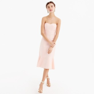 Petite strapless ruffle-hem dress in faille $168 thestylecure.com