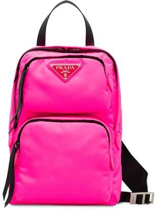 Prada one-shoulder backpack