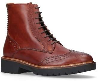 Carvela Snail Brogue Ankle Boots
