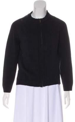 Burberry Long-Sleeve Knit Cardigan