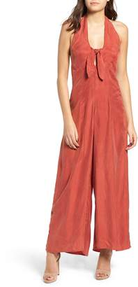 Somedays Lovin Downtown Halter Neck Jumpsuit