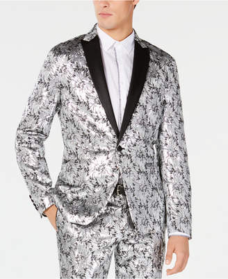 INC International Concepts Men Slim-Fit Metallic Jacquard Blazer