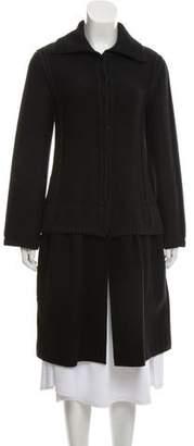 Philosophy di Alberta Ferretti Heavy Knit Long Coat