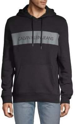 Calvin Klein Jeans Blocked Logo Pullover Hoodie