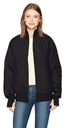 Norma Kamali Women's Quilted Bomber Jacket