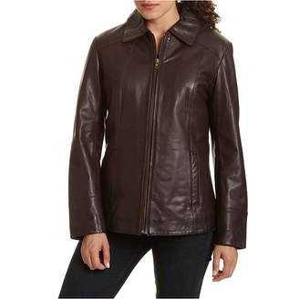 JCPenney Excelled Leather Excelled Scuba Jacket