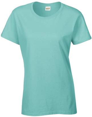 Gildan Ladies/Womens Heavy Cotton Missy Fit Short Sleeve T-Shirt (XL)