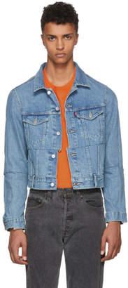 Vetements Blue Levis Edition Cut-Up Denim Jacket