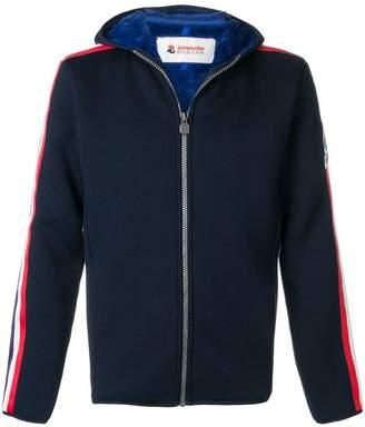 Invicta side stripe hooded jacket