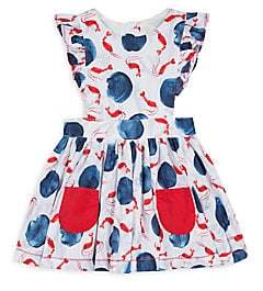 Catimini Baby's& Little Girl's Allover Printed Cotton Dress