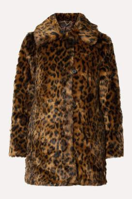 J.Crew Leopard-print Faux Fur Coat - Leopard print