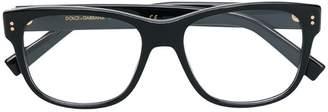 Dolce & Gabbana Eyewear square prescription glasses