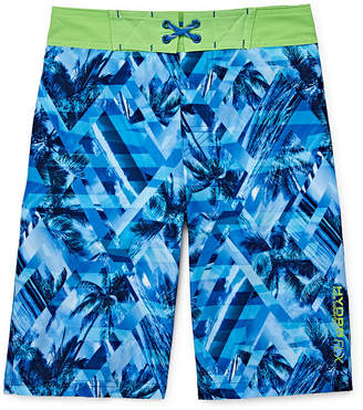 Free Country Geometric Swim Trunks - Boys 8-20