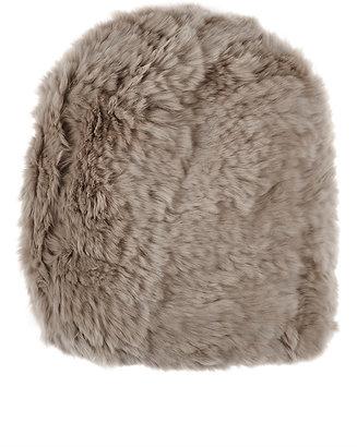 Barneys New York Women's Fur Beanie $265 thestylecure.com