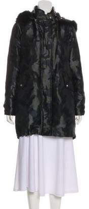 Pinko Printed Short Coat