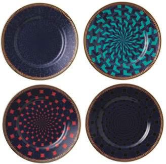 Wedgwood Byzance Plates (Set of Four)