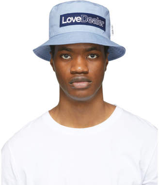 Golden Goose Blue Love Dealer Pacey Hat