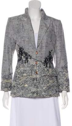 Christian Lacroix Textured Silk Blazer