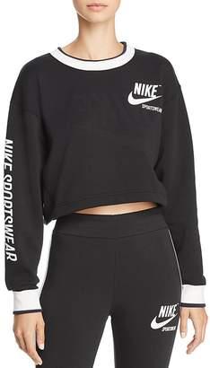 Nike Reversible Cropped Sweatshirt