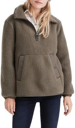 Madewell Polartec(R) Fleece Popover Jacket