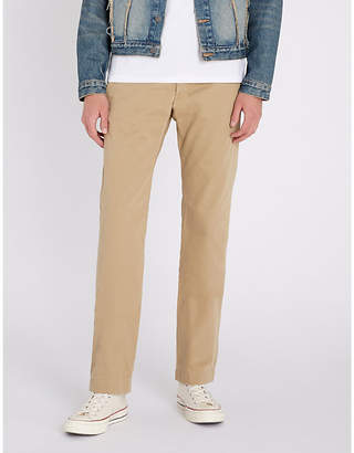 RRL Slim-fit straight cotton trousers