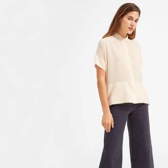 Everlane The Silk Short-Sleeve Square Shirt