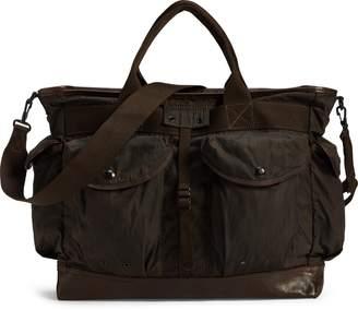 Ralph Lauren Camo-Print Messenger Bag
