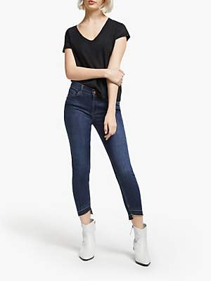 AND/OR Avalon Let Down Hem Jeans