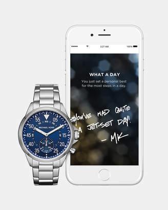 Michael Kors Hybrid Smartwatch Gage Silver-Tone