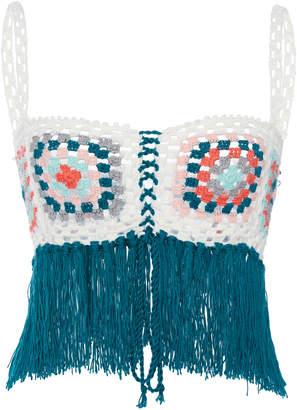 MY BEACHY SIDE Bisou Crochet Crop Top