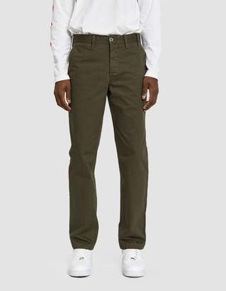 Norse Projects Aros Heavy Twill Chino Pant in Ivy Green