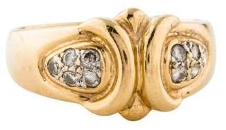 Ring 14K Diamond Pavé