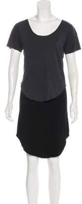 LnA Short Sleeve Mini Dress