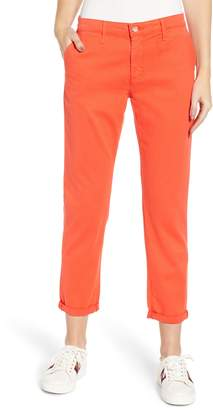 AG Jeans Caden Crop Twill Trousers