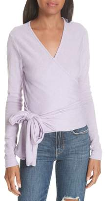 Autumn Cashmere Cashmere Wrap Sweater